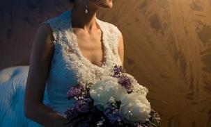 Bride-sitting-next-to-lamp