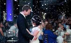 bride and groom the allure, laporte