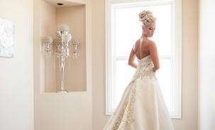 kristy princess wedding pose