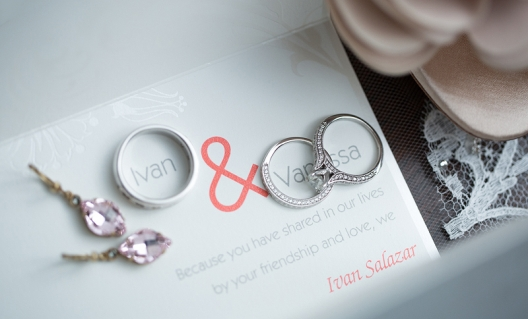 rings on invitation