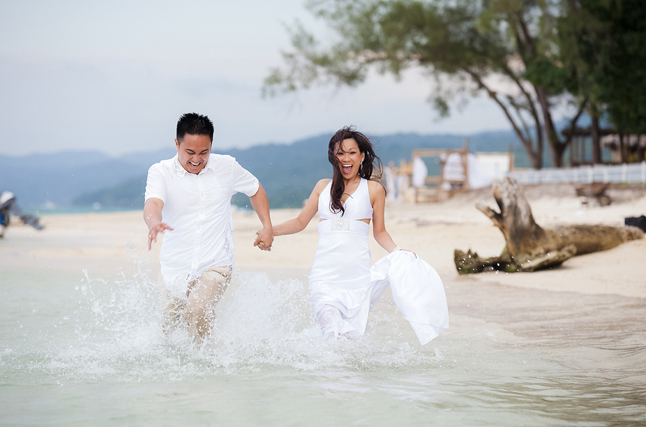 tevy and ryan trash the dress jamaica