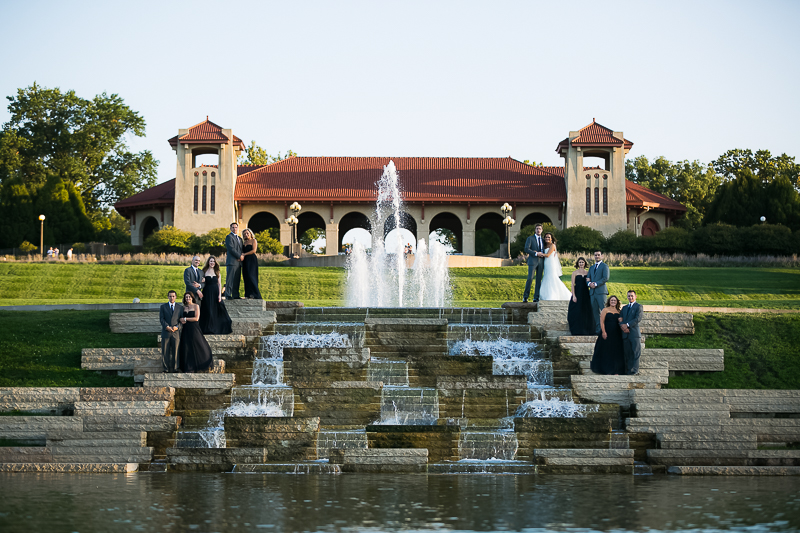 Forrest Park Wedding St Louis 1